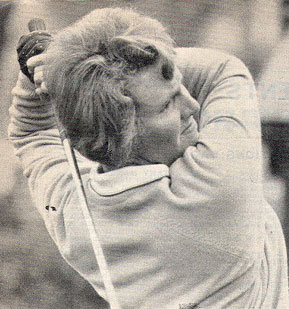 "Another stellar Lady player was Elizabeth Chadwick, who married Tony Pook. ELIZABETH CHADWICK was Double British champion winner of the British women's open amateur championship was Elizabeth Chadwick/Pook, won the ""British"" in 1966 and 1967. A number of very good golfers emerged from this magnificent and challenging links course – not least the scratch golfer Dr. John Wilson who, as 'Doc' Wilson became a fixture in and around AGC for half a century. He was particularly noted for his kindness to junior members many of whom he coached. His work is recognised with the ""Doc"" Wilson Memorial' trophy contested each year by the junior members."